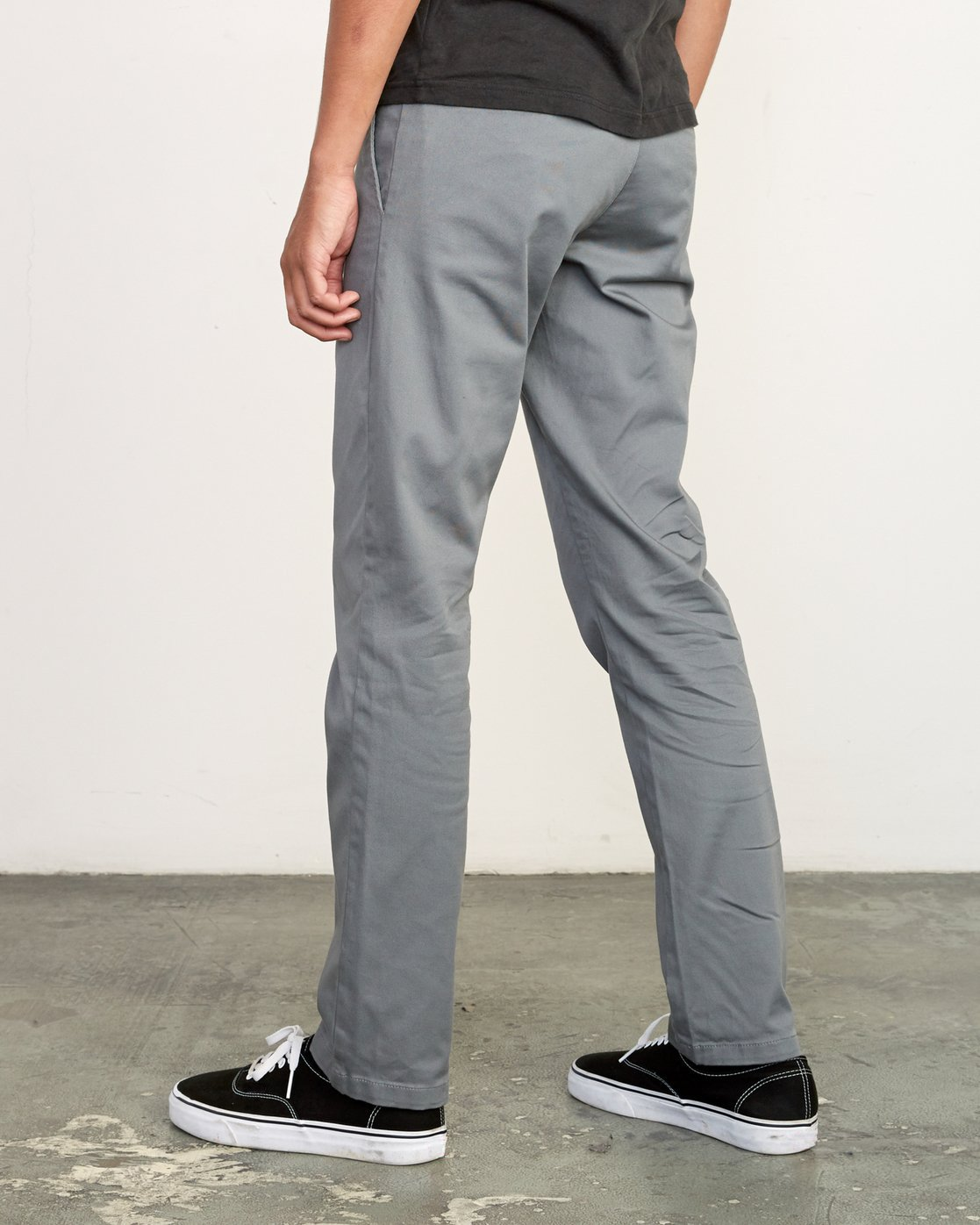 3 WeekEnd Stretch straight fit Pant Grey M314VRWS RVCA