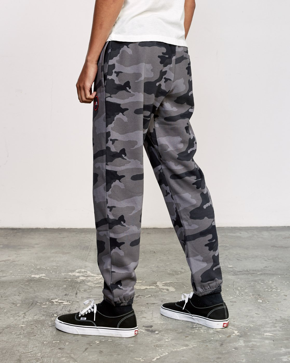 2 Kane Swift Sweat Pant Black M315VRKS RVCA