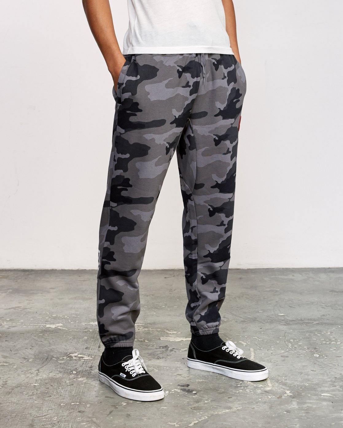 5 Kane Swift Sweat Pant Black M315VRKS RVCA