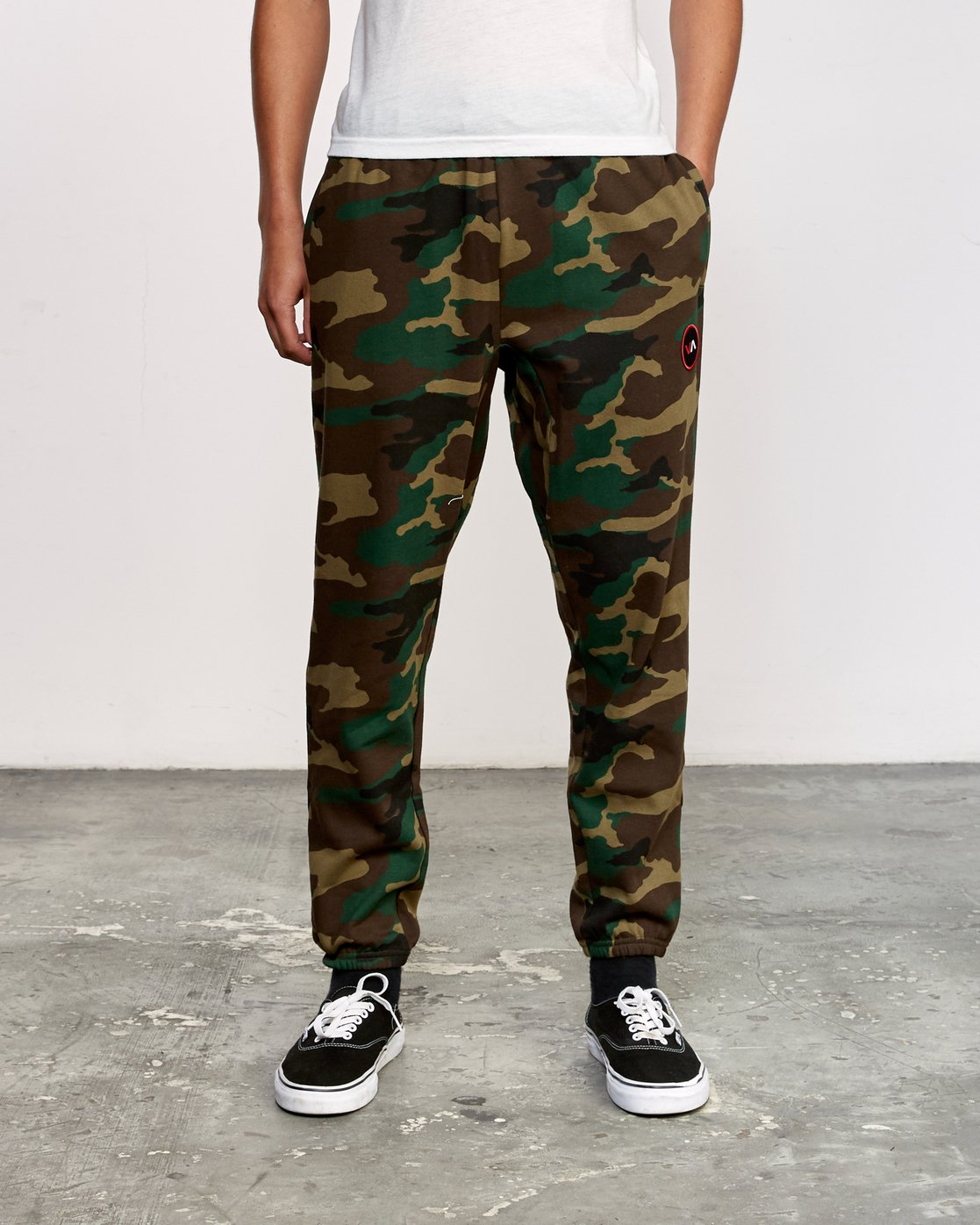 0 Kane Swift Sweat Pant Brown M315VRKS RVCA