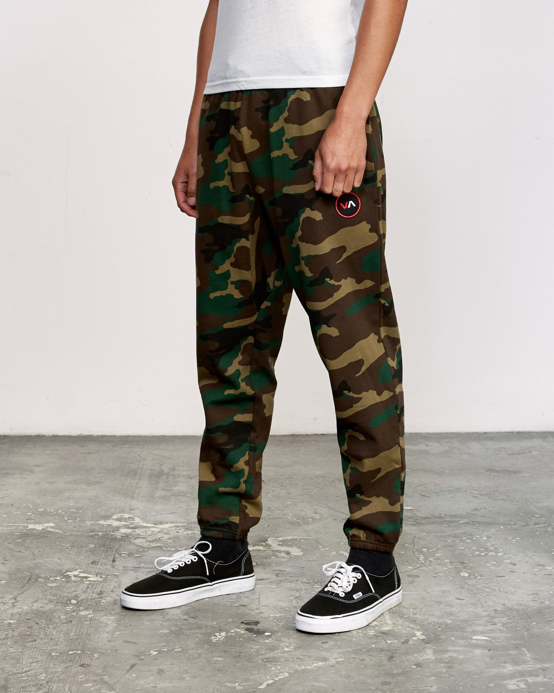 2 Kane Swift Sweat Pant Brown M315VRKS RVCA