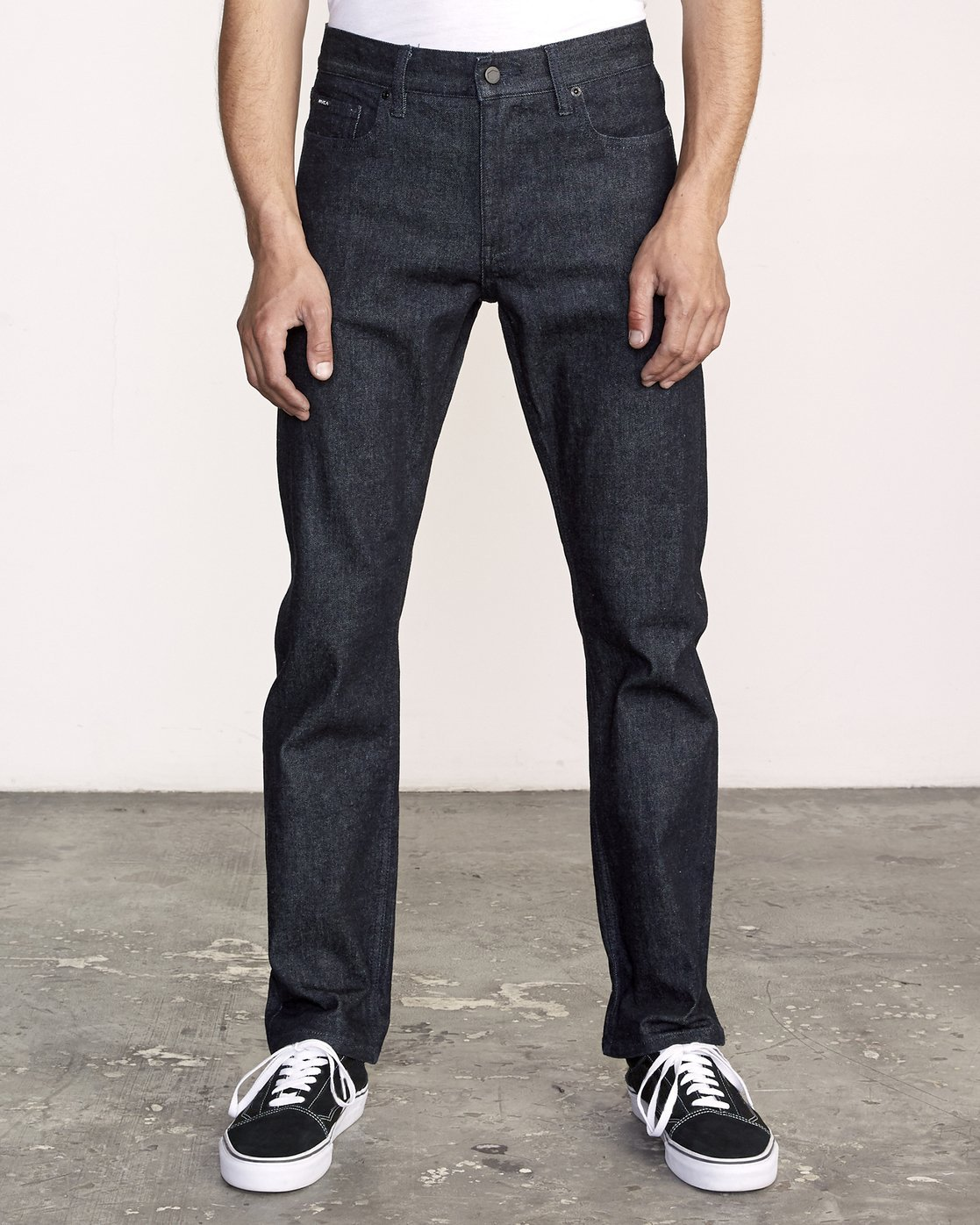 0 Weekend Raw Selvedge Jeans Blue M320VRWK RVCA