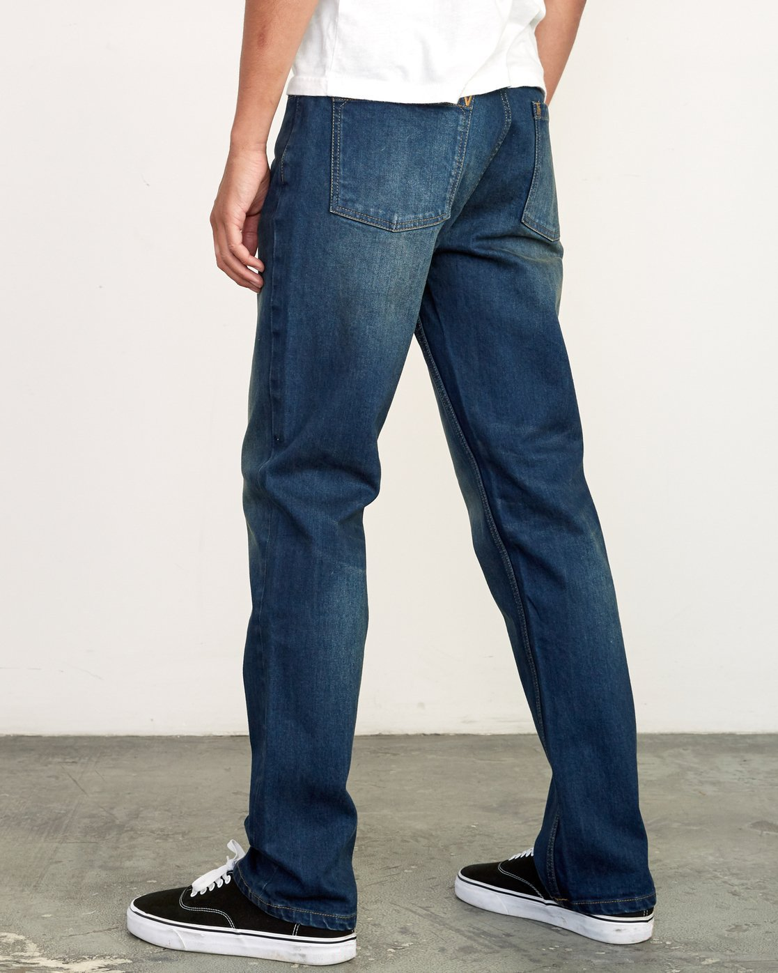 2 Weekend Straight Fit Jeans Blue M323VRWK RVCA