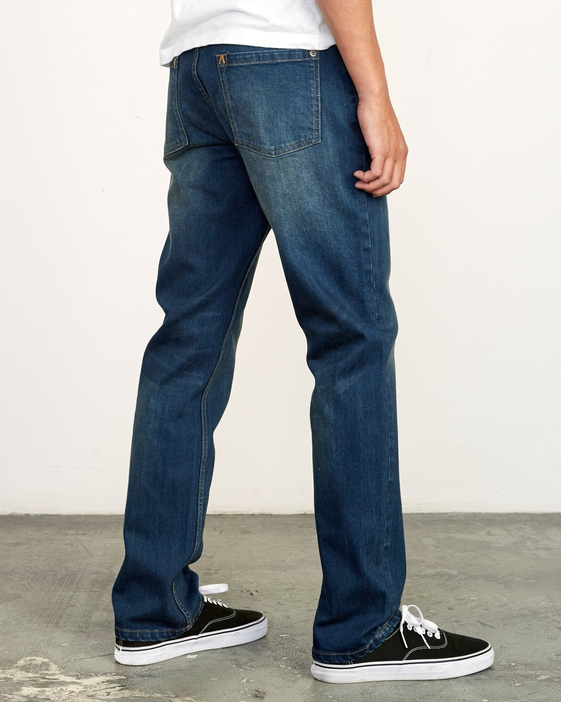 5 Weekend Straight Fit Jeans Blue M323VRWK RVCA