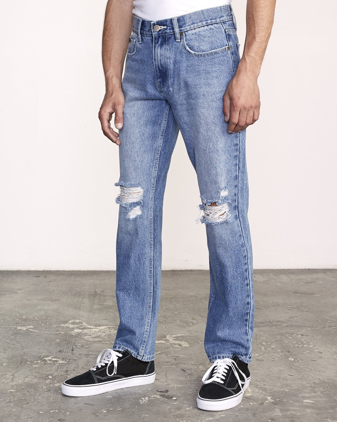 1 week-end STRAIGHT FIT Denim Grey M323VRWK RVCA