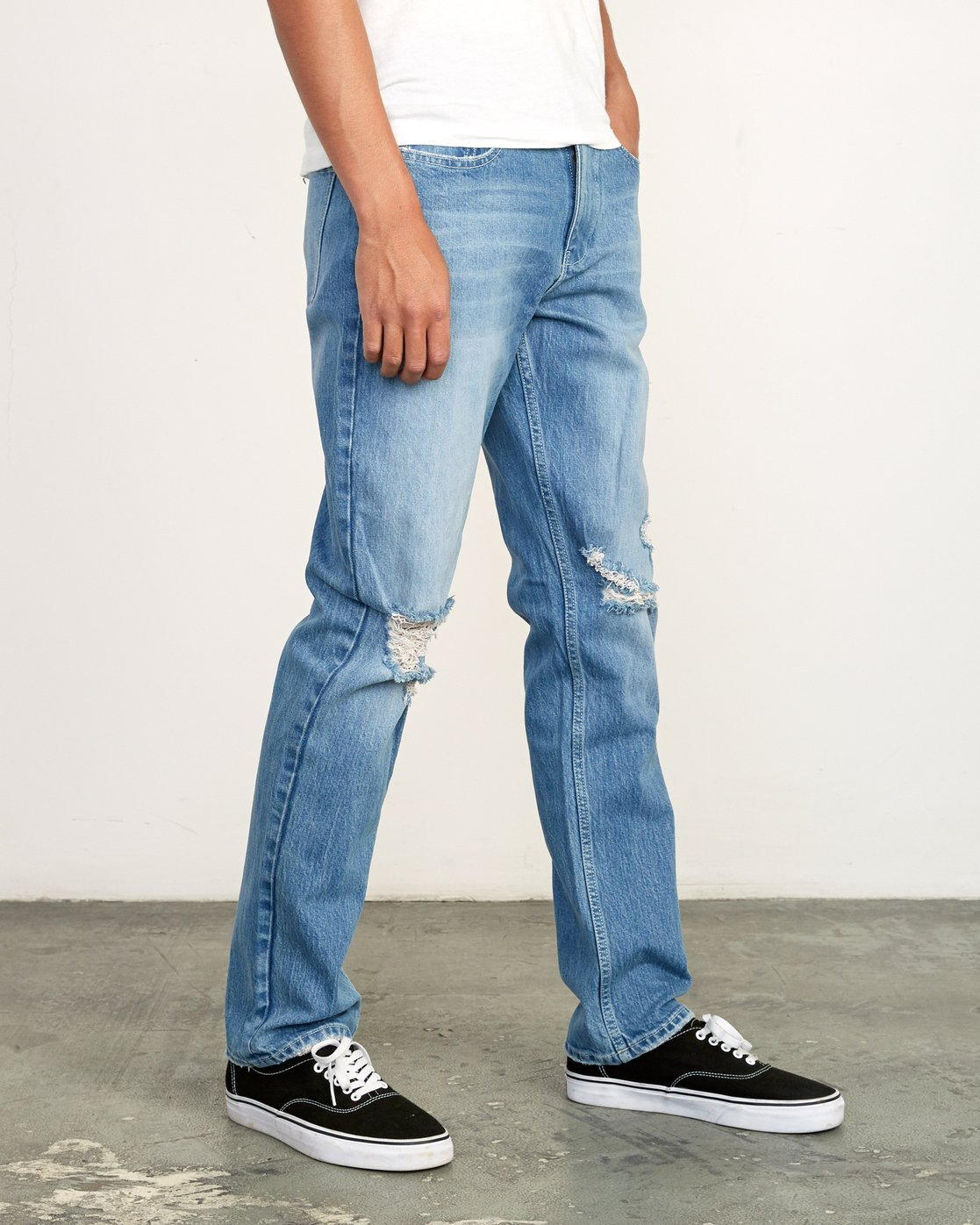 6 week-end STRAIGHT FIT Denim Grey M323VRWK RVCA