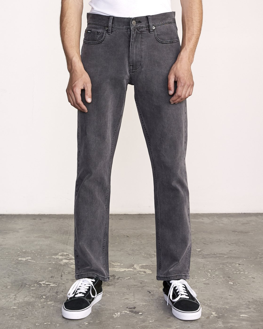 0 Weekend Straight Fit Jeans Grey M323VRWK RVCA