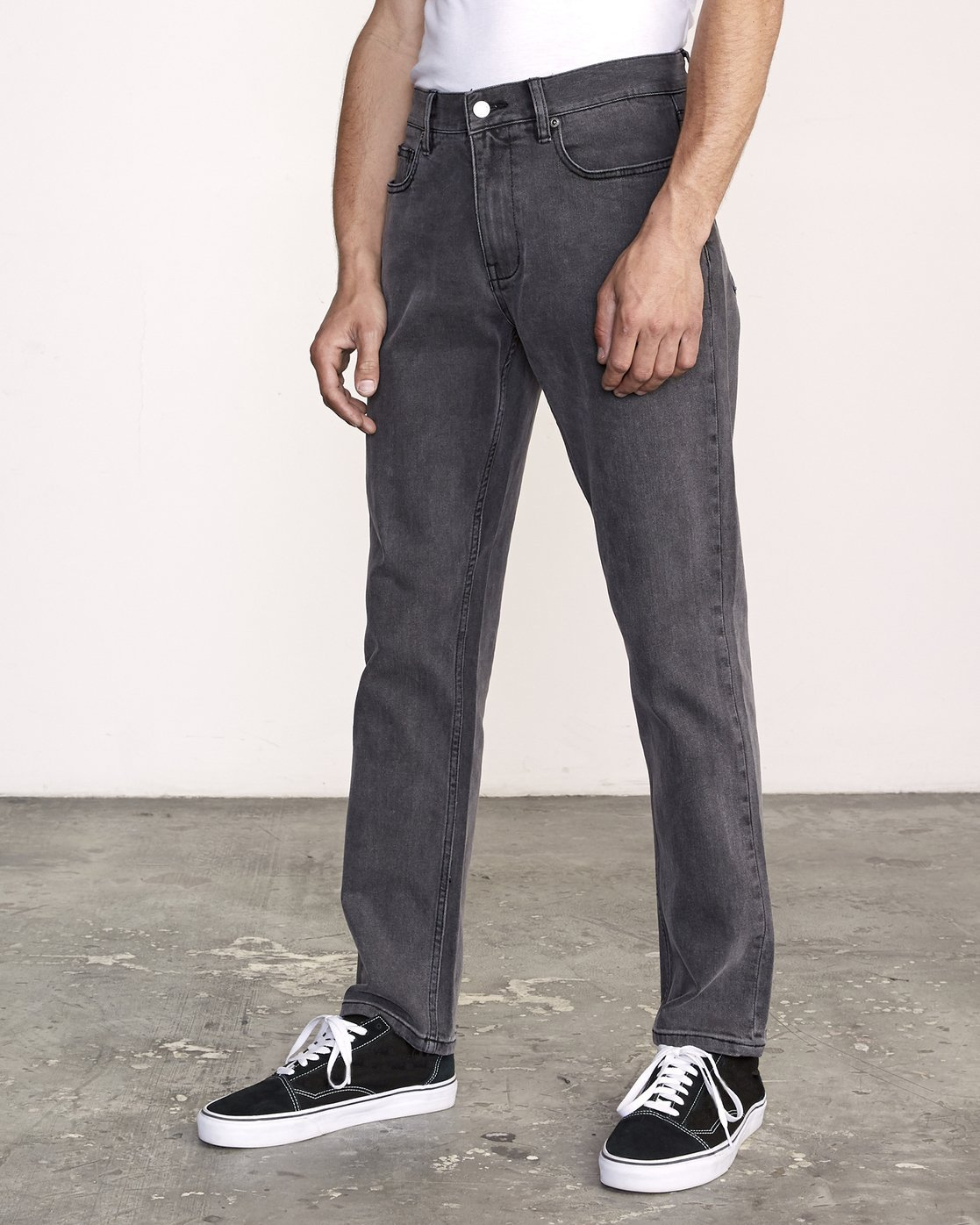 1 Weekend Straight Fit Jeans Grey M323VRWK RVCA