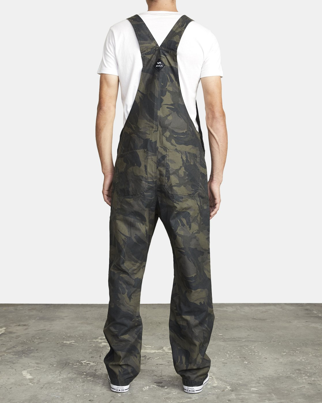 2 CHAINMAIL RELAXED FIT OVERALL Black M3263RNH RVCA
