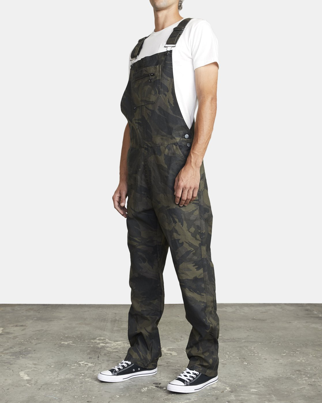 3 CHAINMAIL RELAXED FIT OVERALL Black M3263RNH RVCA