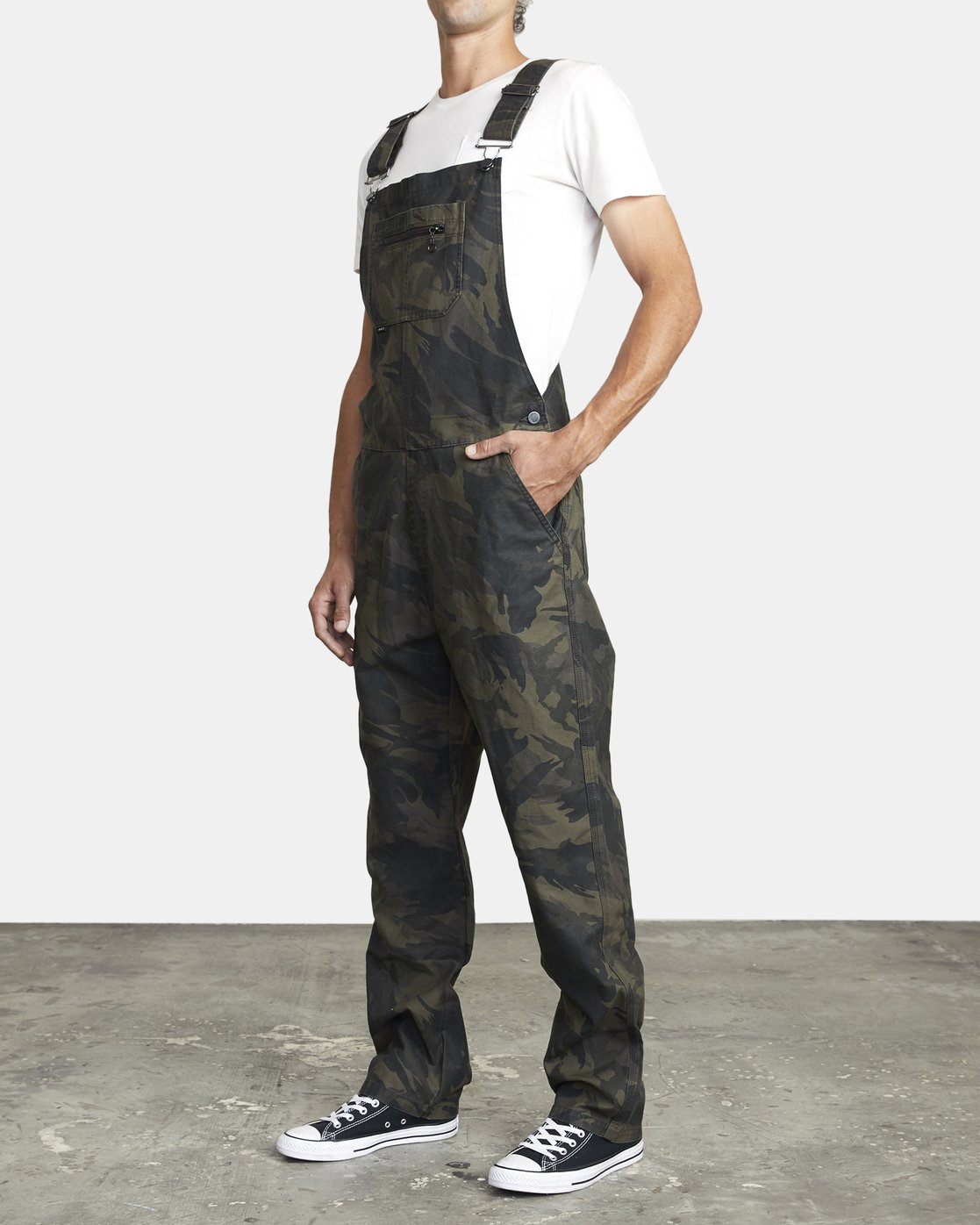 6 CHAINMAIL RELAXED FIT OVERALL Black M3263RNH RVCA