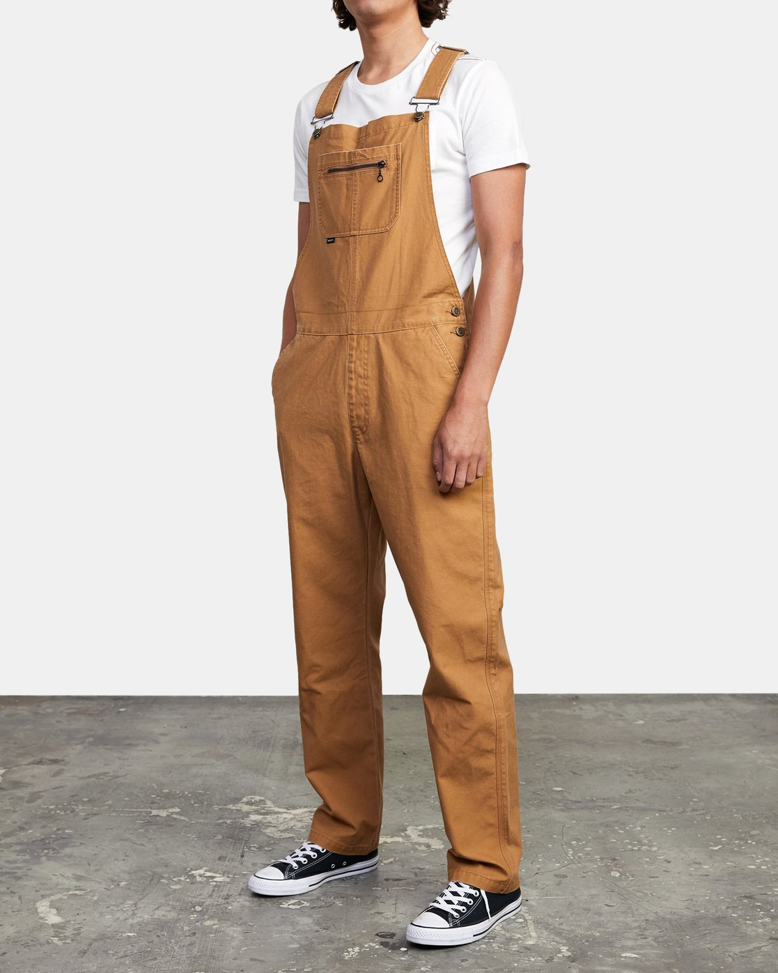 6 CHAINMAIL RELAXED FIT OVERALL Brown M3263RNH RVCA