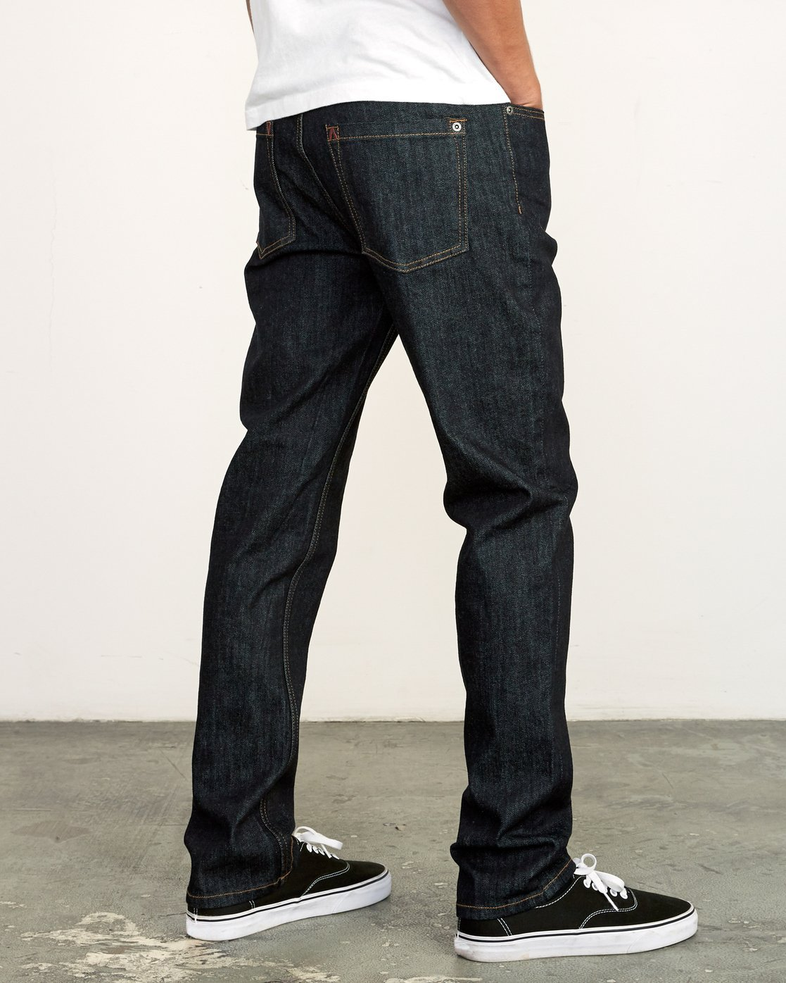 4 Daggers Slim Fit Denim Blue M327VRDA RVCA