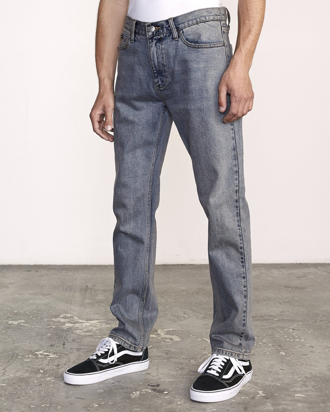 1 Daggers Slim-Straight Jeans Multicolor M327VRDA RVCA