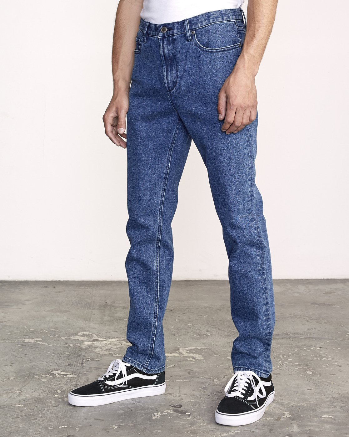 2 Daggers Slim Fit Denim Blue M327VRDA RVCA