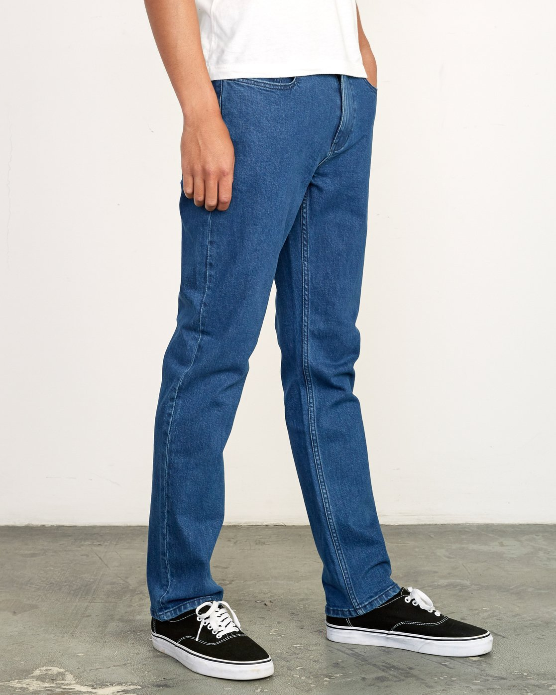 6 Daggers Slim Fit Denim Blue M327VRDA RVCA