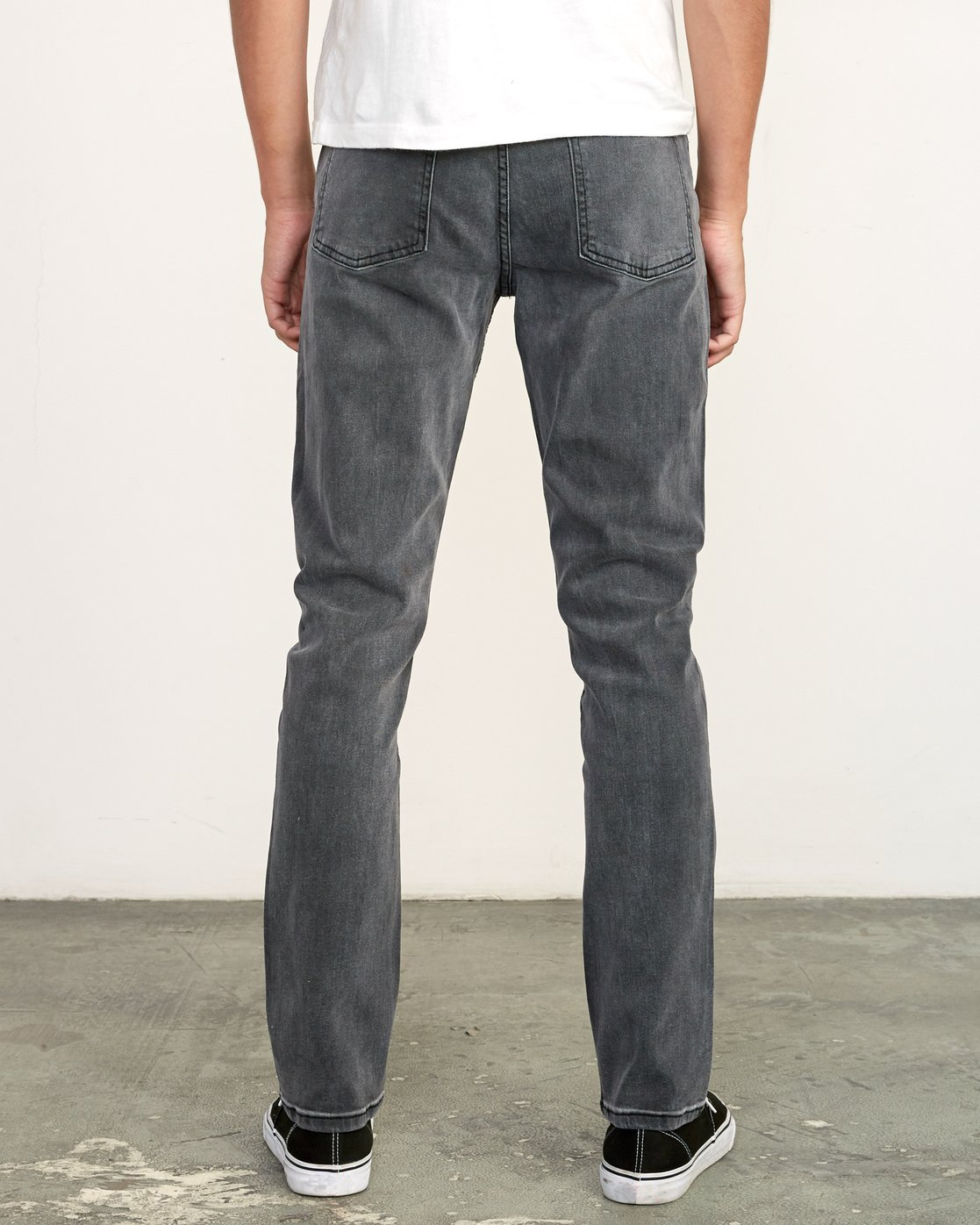 1 Daggers Slim Fit Denim Grey M327VRDA RVCA