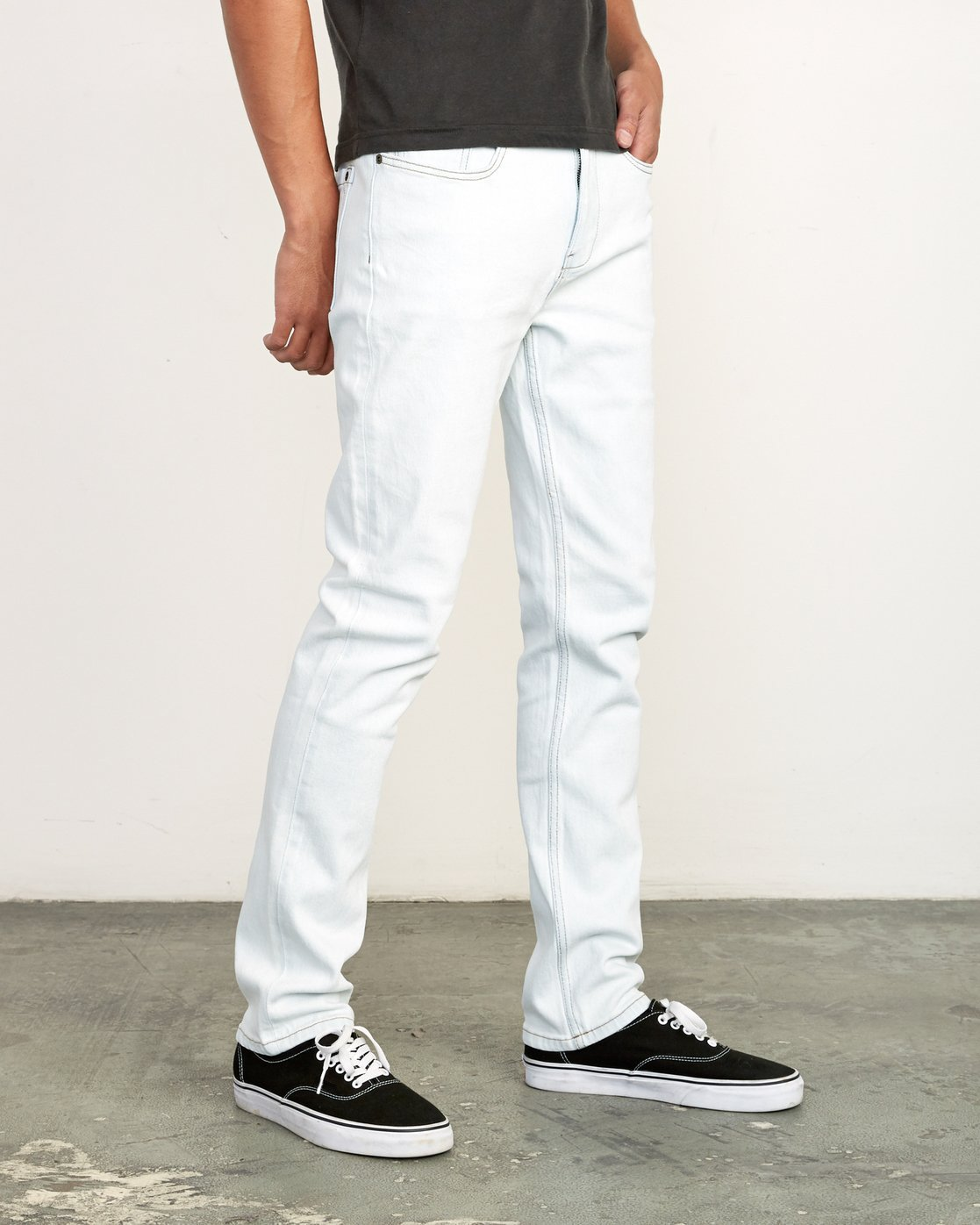 5 Daggers Slim Fit Denim White M327VRDA RVCA