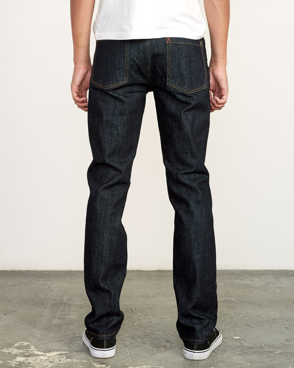 3 Hexed Slim Fit Jeans Blue M328VRHD RVCA