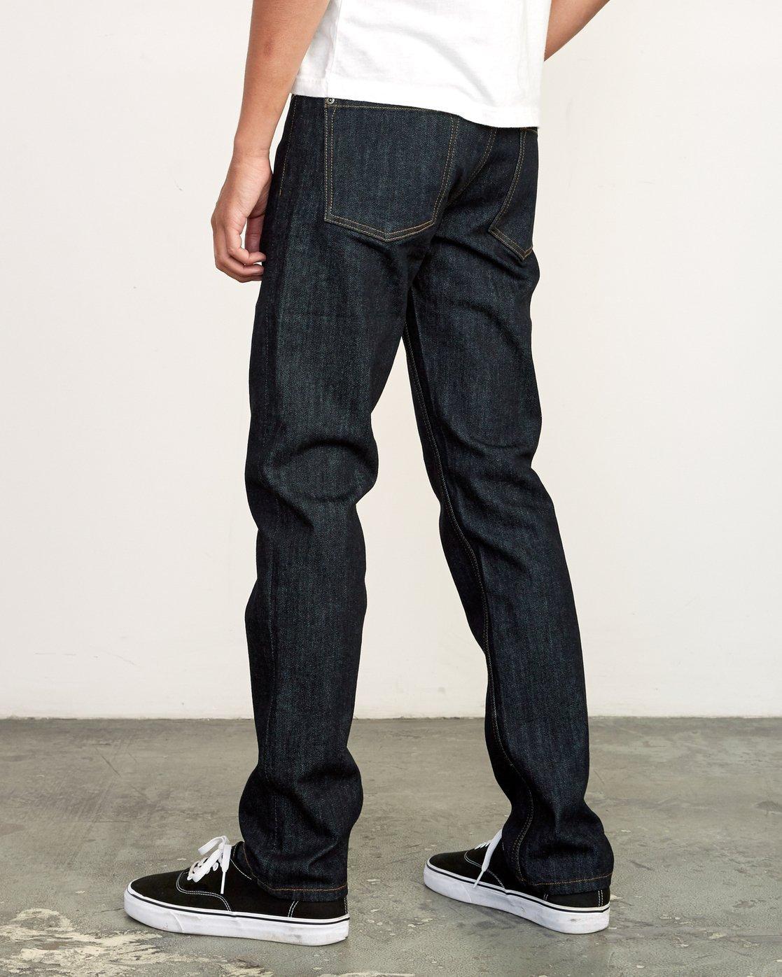 2 Hexed Slim Fit Jeans Blue M328VRHD RVCA