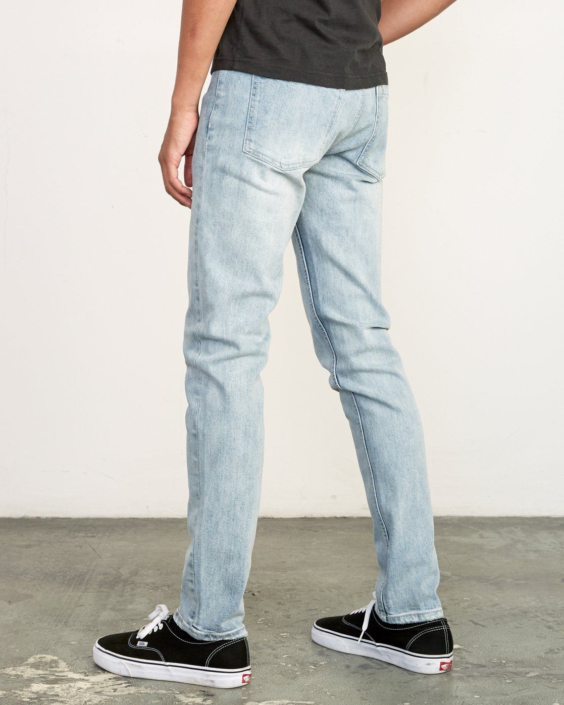 3 ROCKERS SKINNY FIT DENIM Beige M329VRRD RVCA