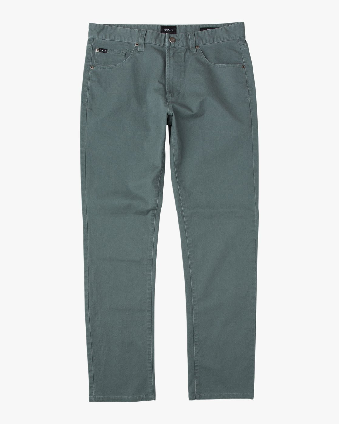 6 Daggers Slim-Straight Twill Pants Green M3301DAG RVCA
