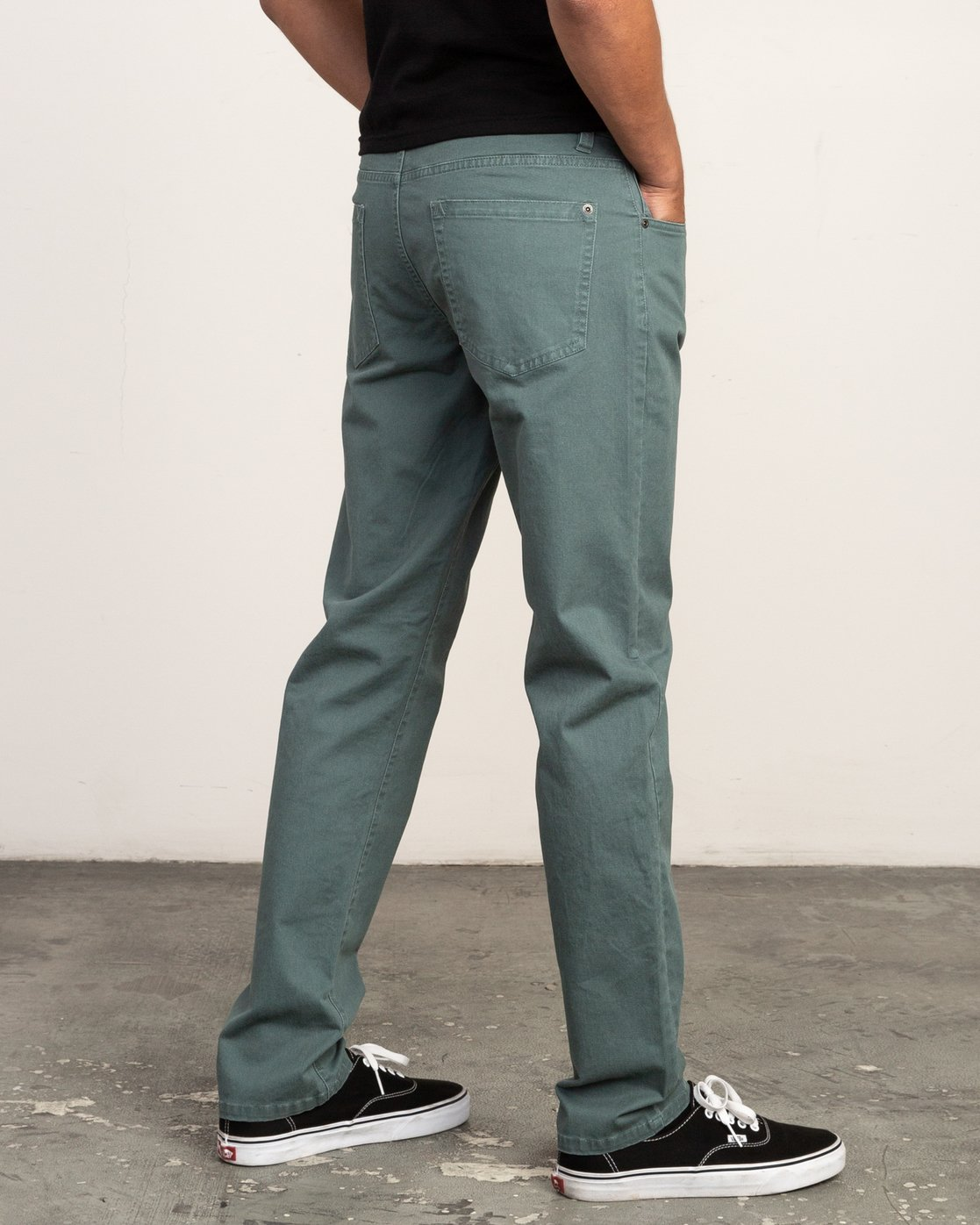 4 Daggers Slim-Straight Twill Pants Green M3301DAG RVCA