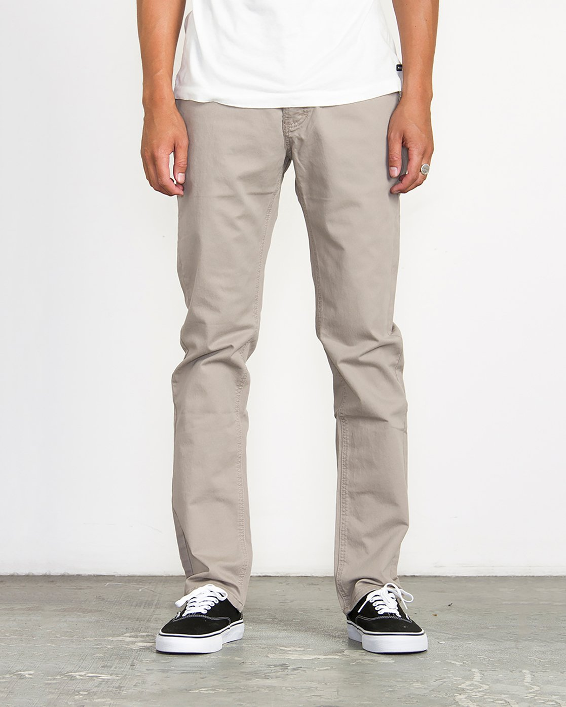 0 Stay RVCA Straight Fit Pants Green M3306SRP RVCA