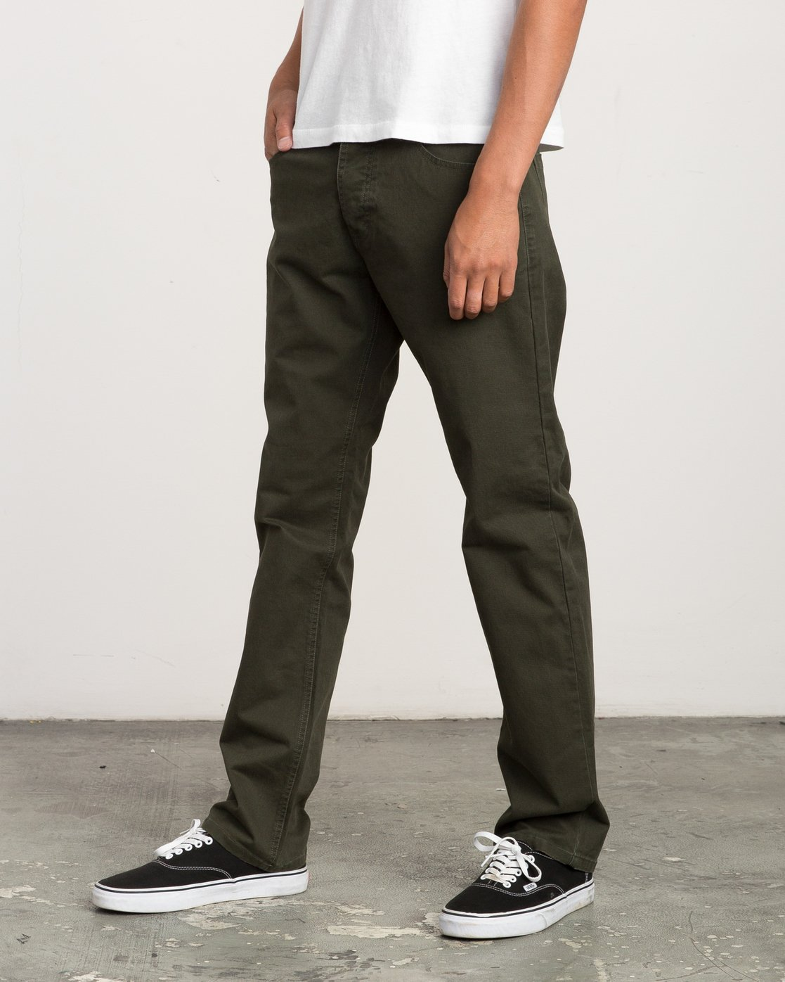 1 Stay RVCA Straight Fit Pants Camo M3306SRP RVCA