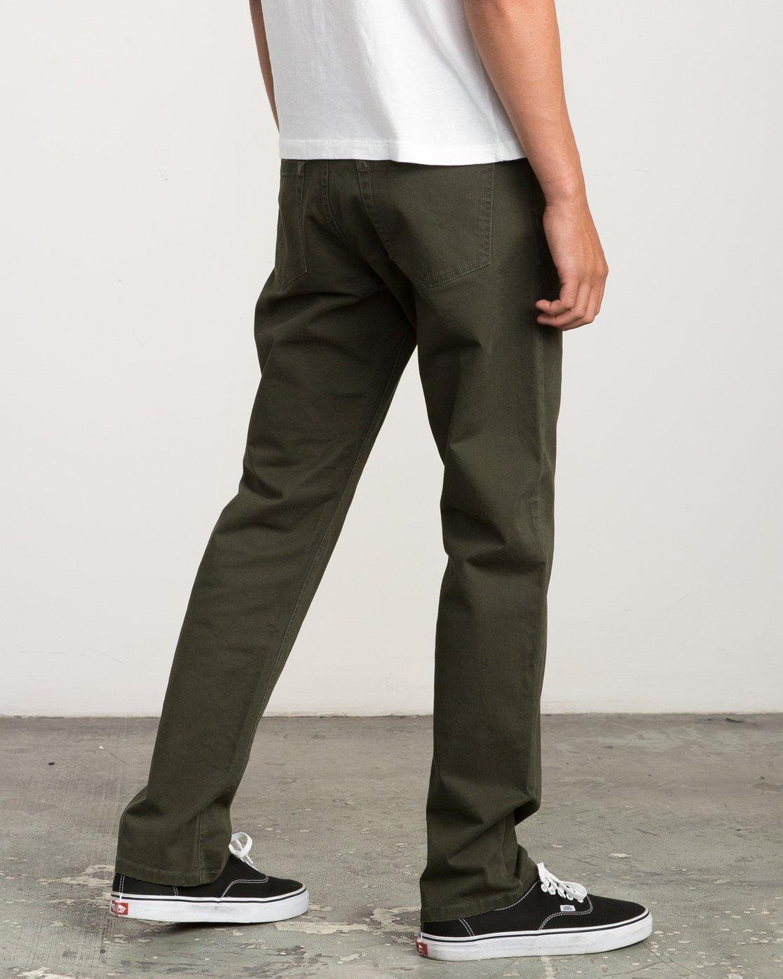 4 Stay RVCA Straight Fit Pants Camo M3306SRP RVCA