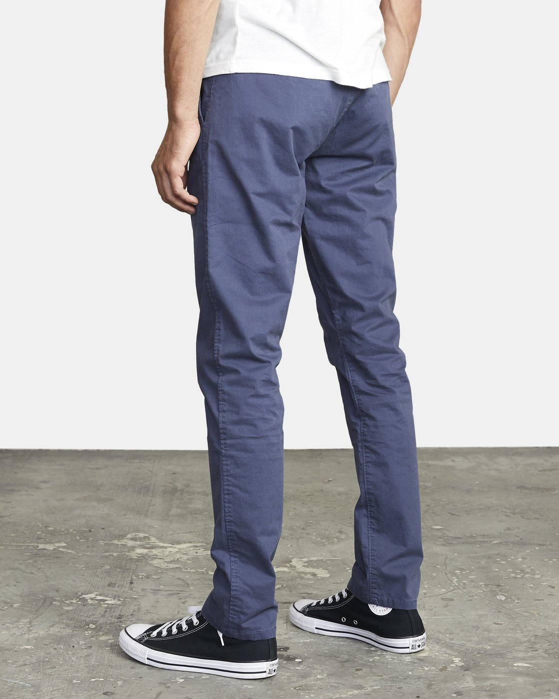 5 DAGGERS SLIM FIT CHINO pant Blue M3443RDC RVCA