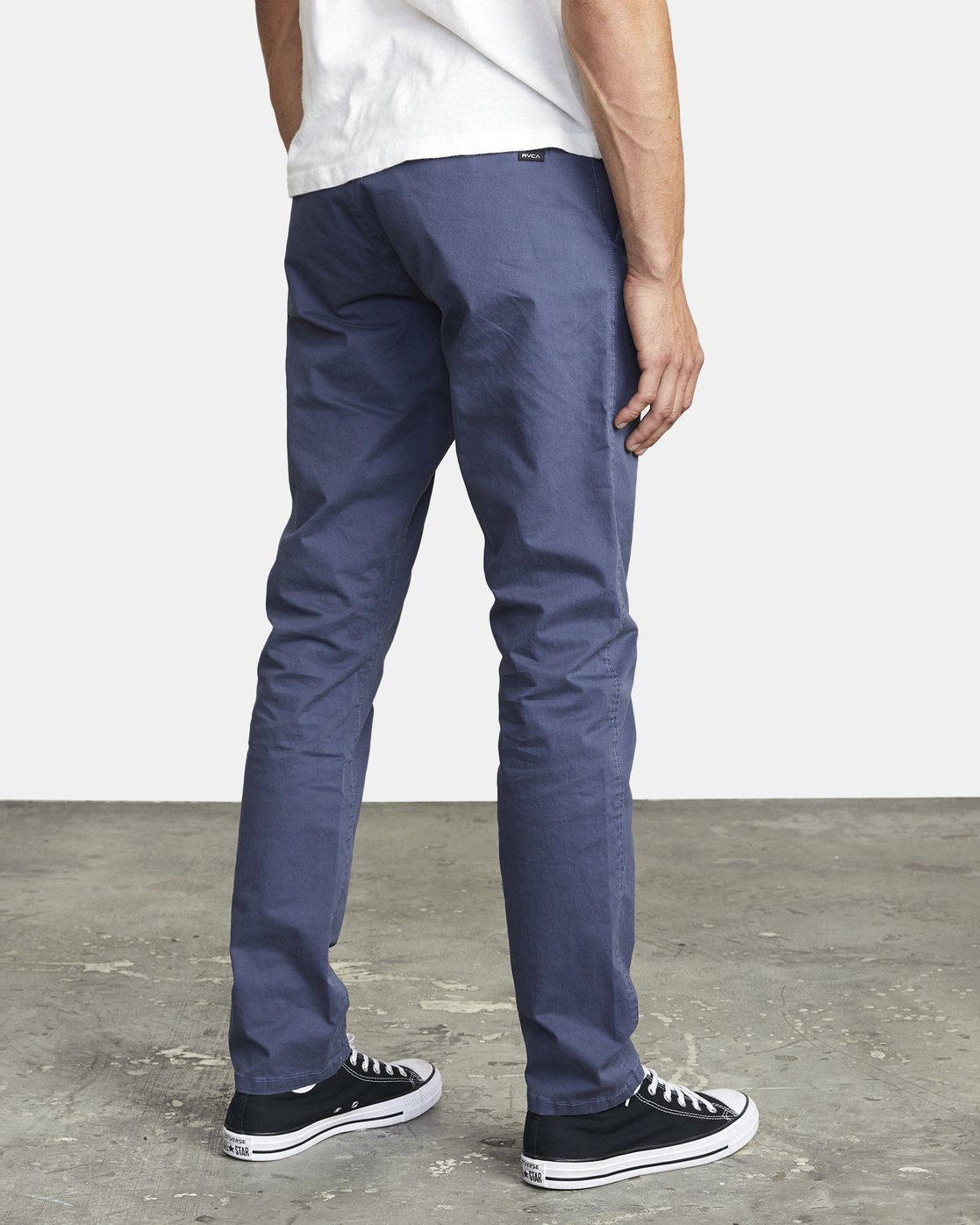 6 DAGGERS SLIM FIT CHINO pant Blue M3443RDC RVCA