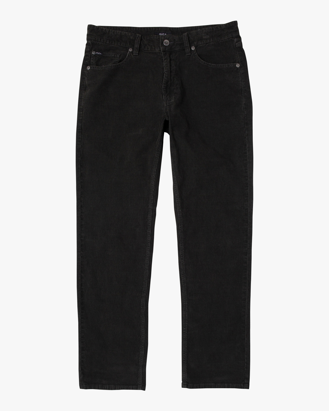0 DAGGERS SLIM PIGMENT CORD PANT Black M3463RDC RVCA
