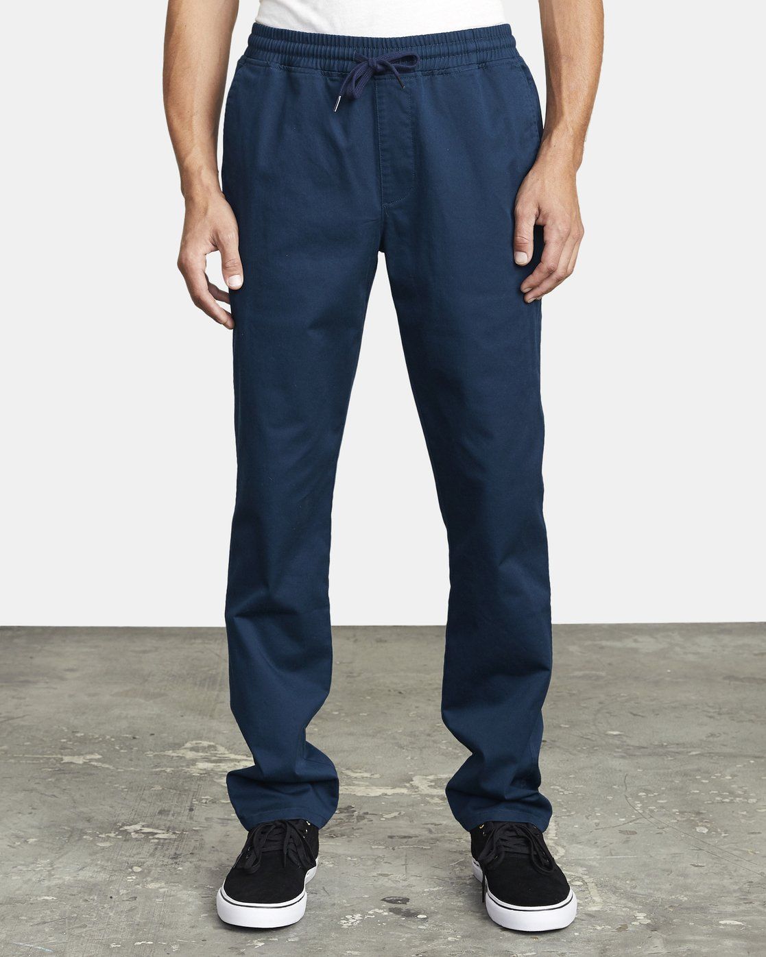 2 WEEKEND ELASTIC STRAIGHT FIT PANT Blue M3473RWE RVCA