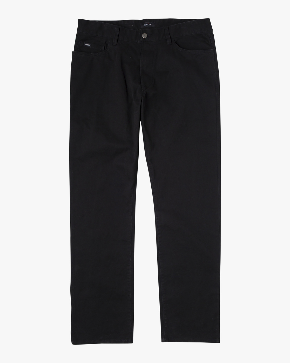 1 week-end TWILL STRAIGHT FIT PANT Black M3483RWT RVCA