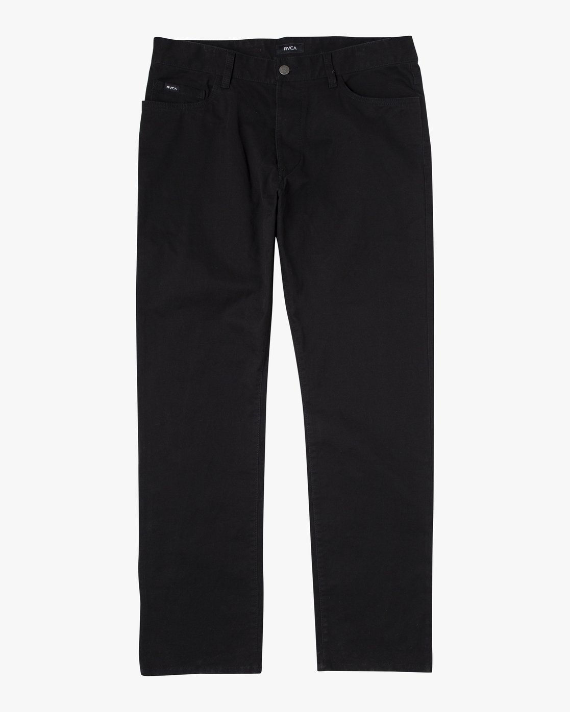 9 week-end TWILL STRAIGHT FIT PANT Black M3483RWT RVCA