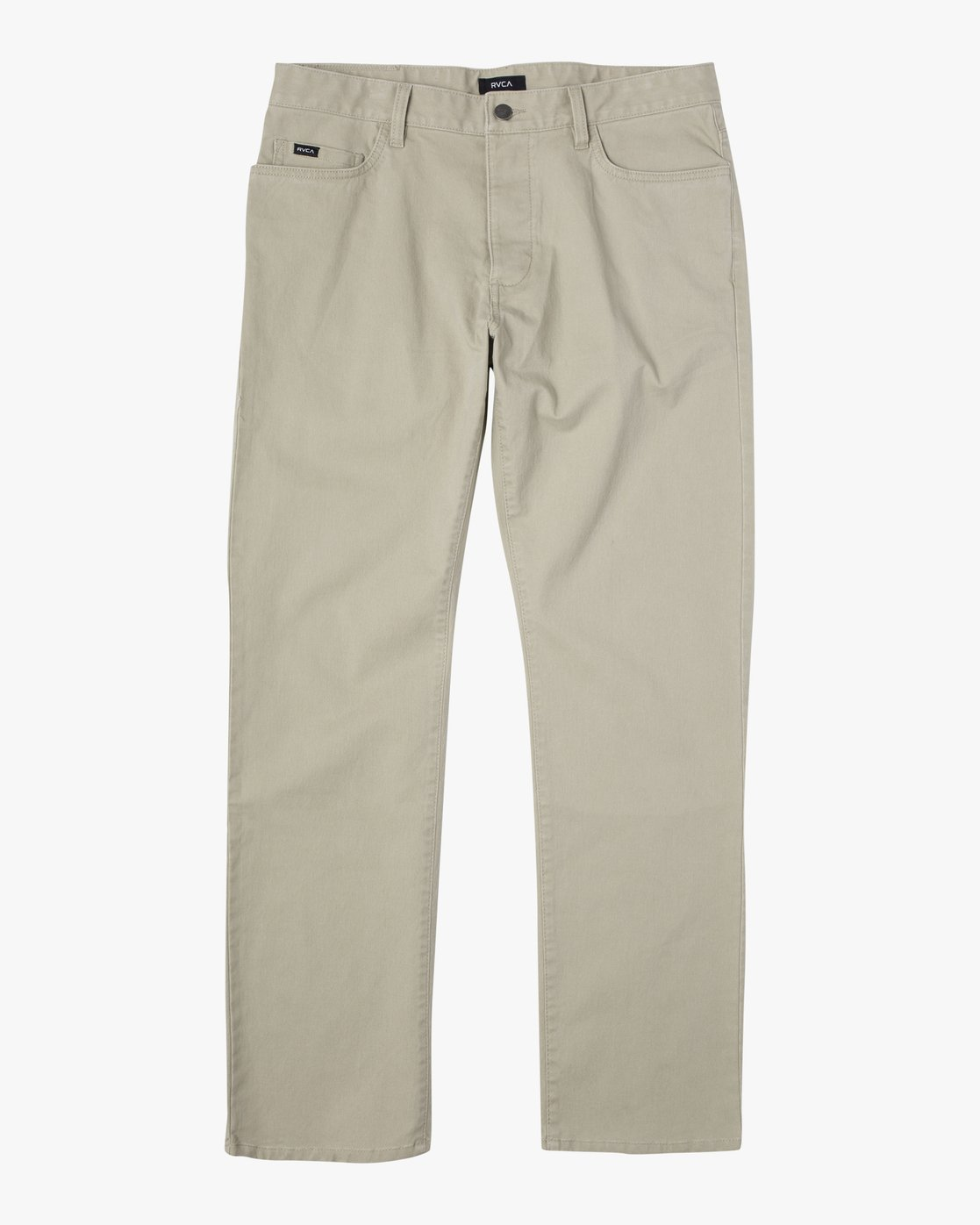 1 week-end TWILL STRAIGHT FIT PANT Beige M3483RWT RVCA