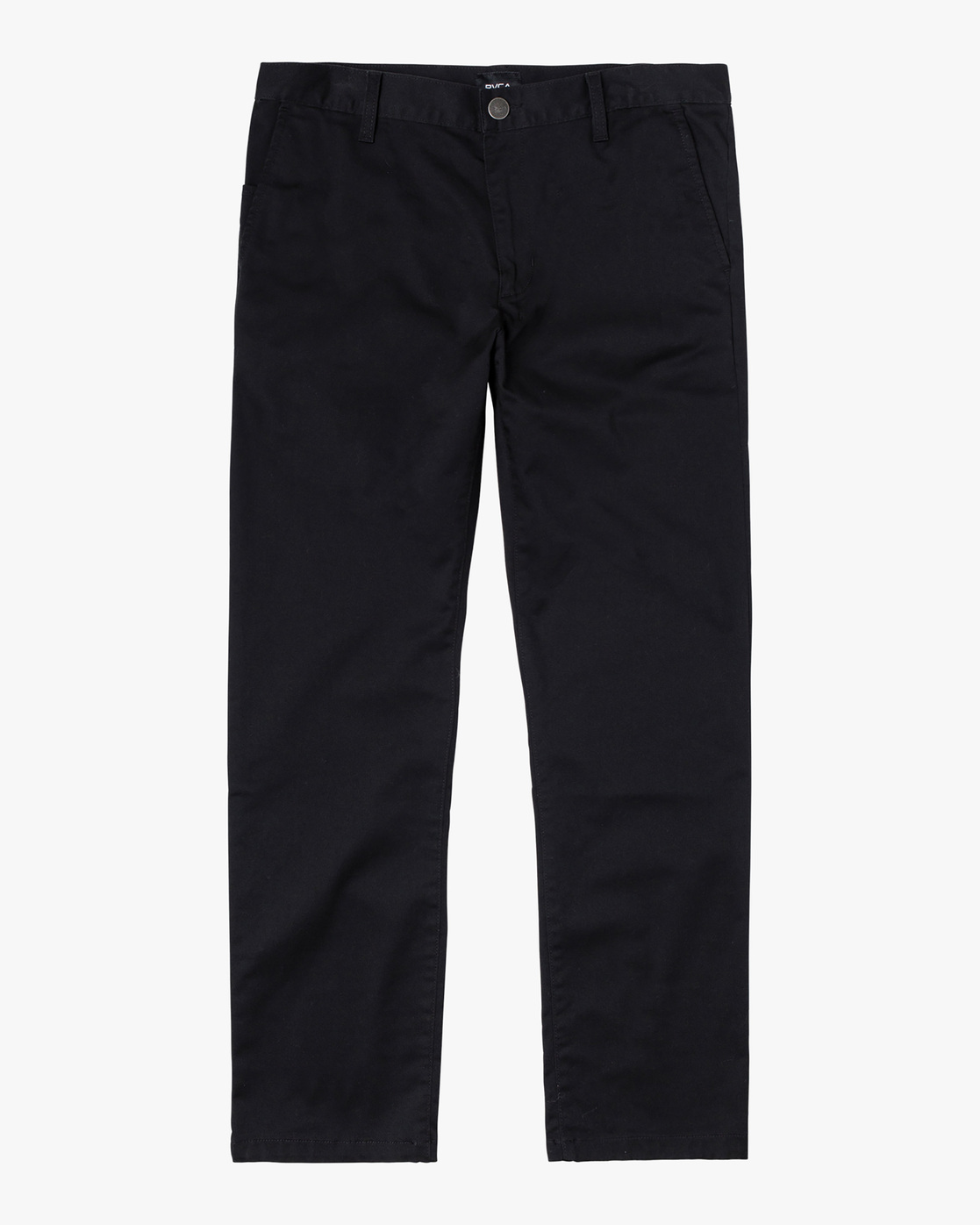 0 week-end Stretch straight fit Pant Black M3493RWS RVCA