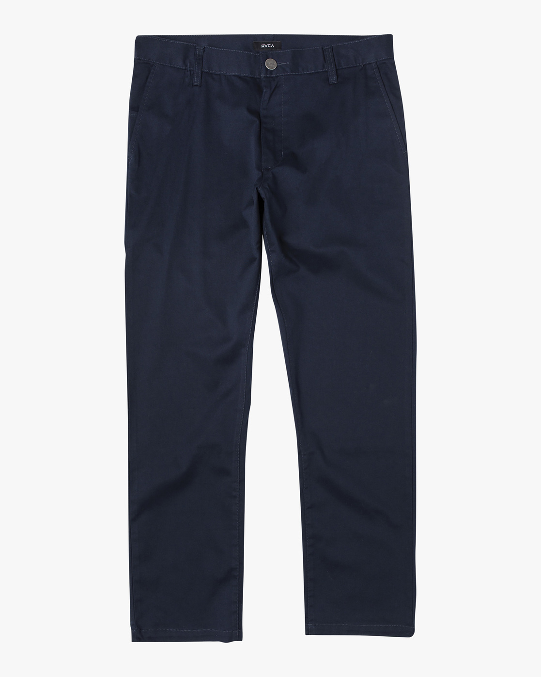 0 week-end Stretch straight fit Pant Blue M3493RWS RVCA