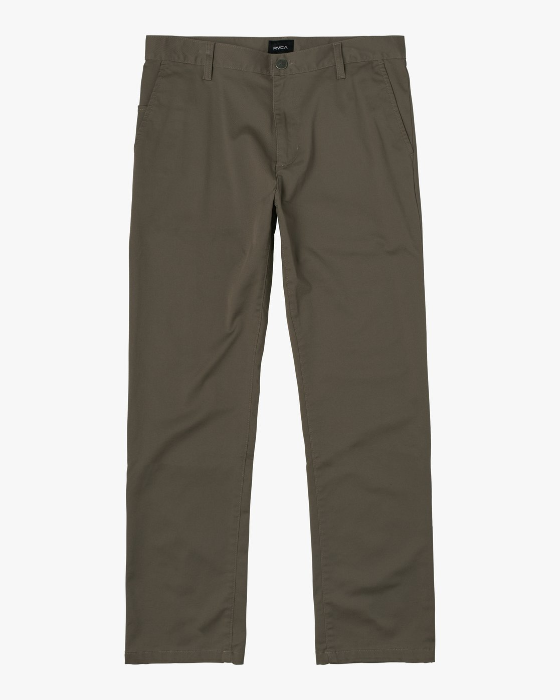 1 week-end Stretch straight fit Pant Green M3493RWS RVCA