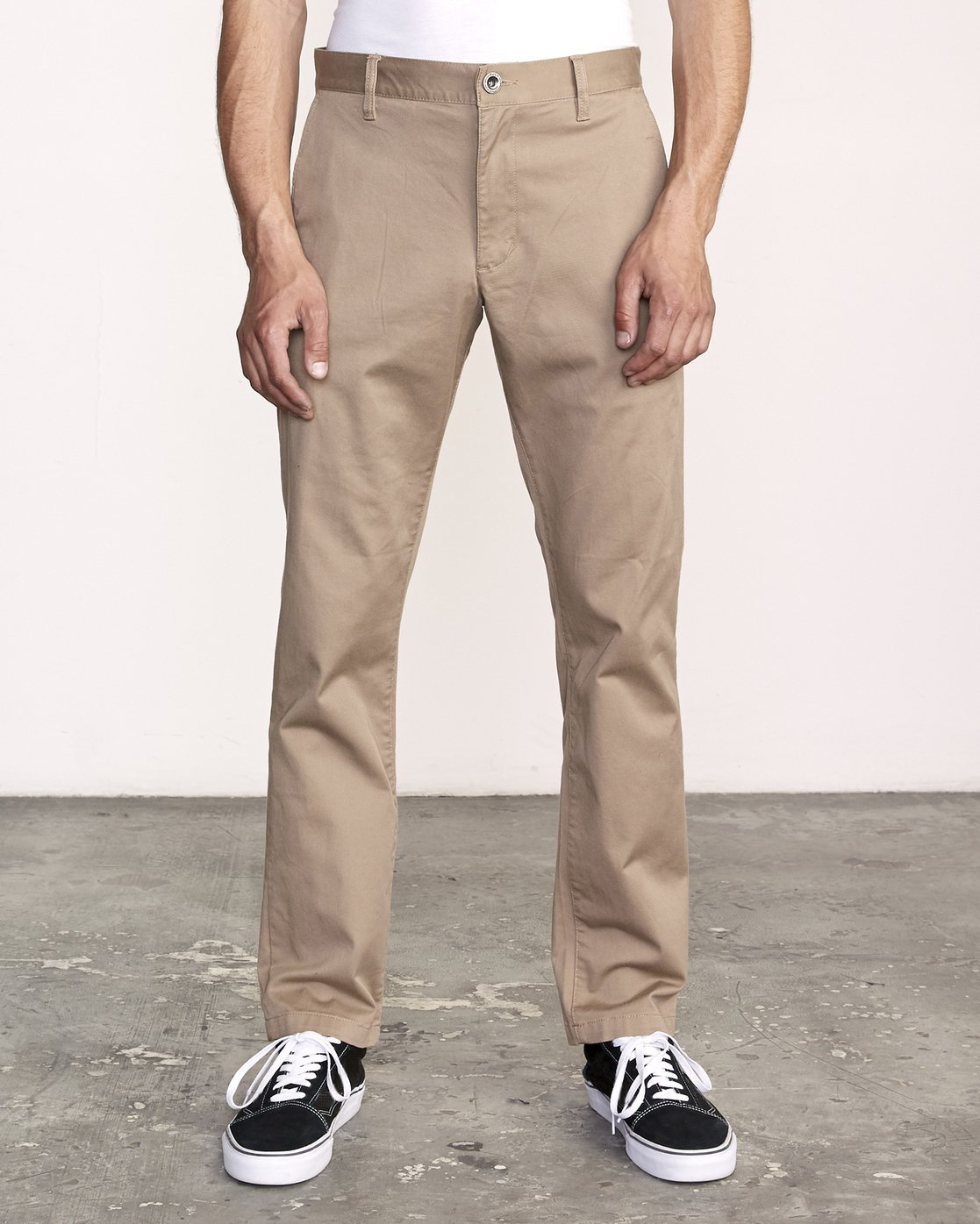 2 week-end Stretch straight fit Pant Grey M3493RWS RVCA