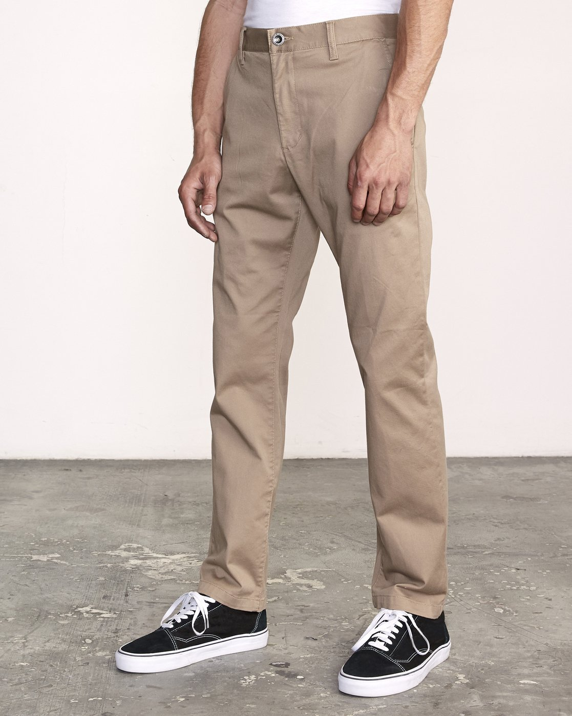 1 WeekEnd Stretch straight fit Pant Grey M3493RWS RVCA