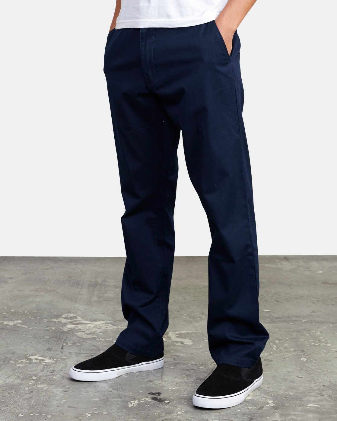 7 week-end Stretch straight fit Pant Blue M3493RWS RVCA