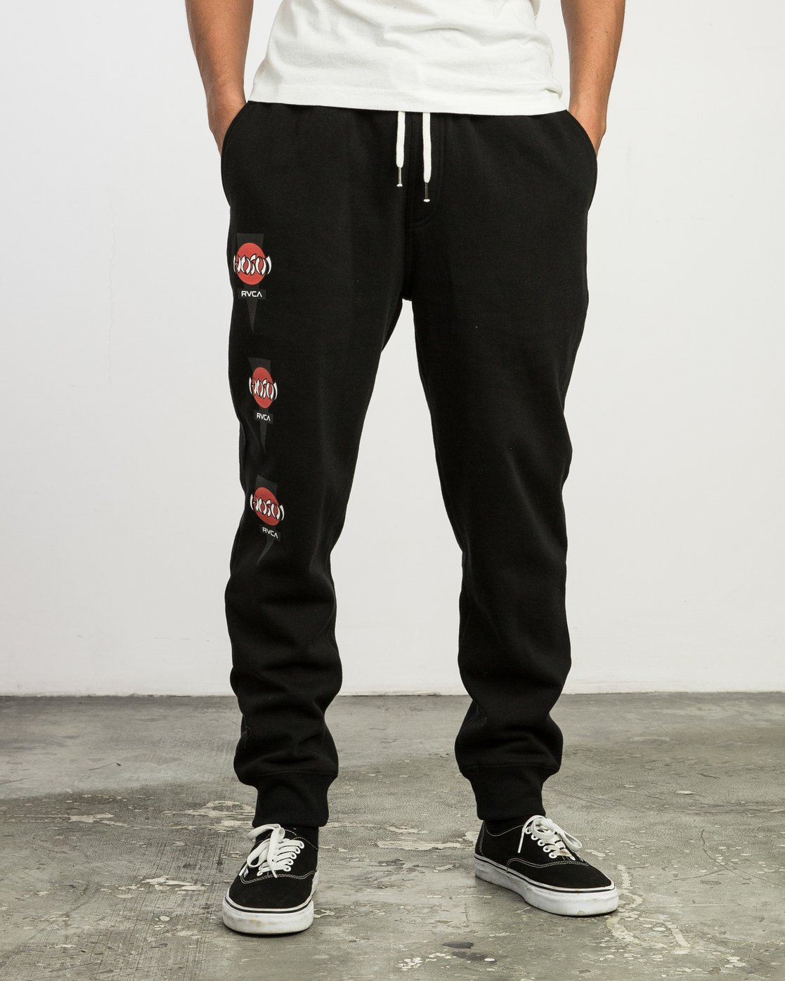 1 Christian Hosoi Sweat Pant Black M350SRHS RVCA