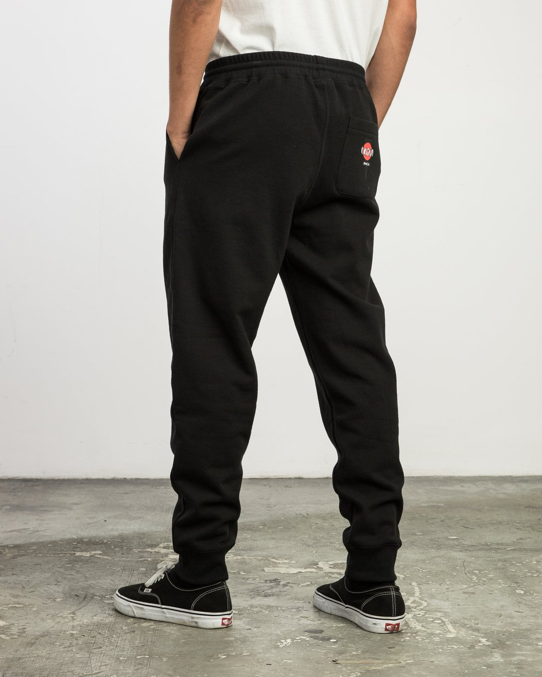3 Christian Hosoi Sweat Pant Black M350SRHS RVCA