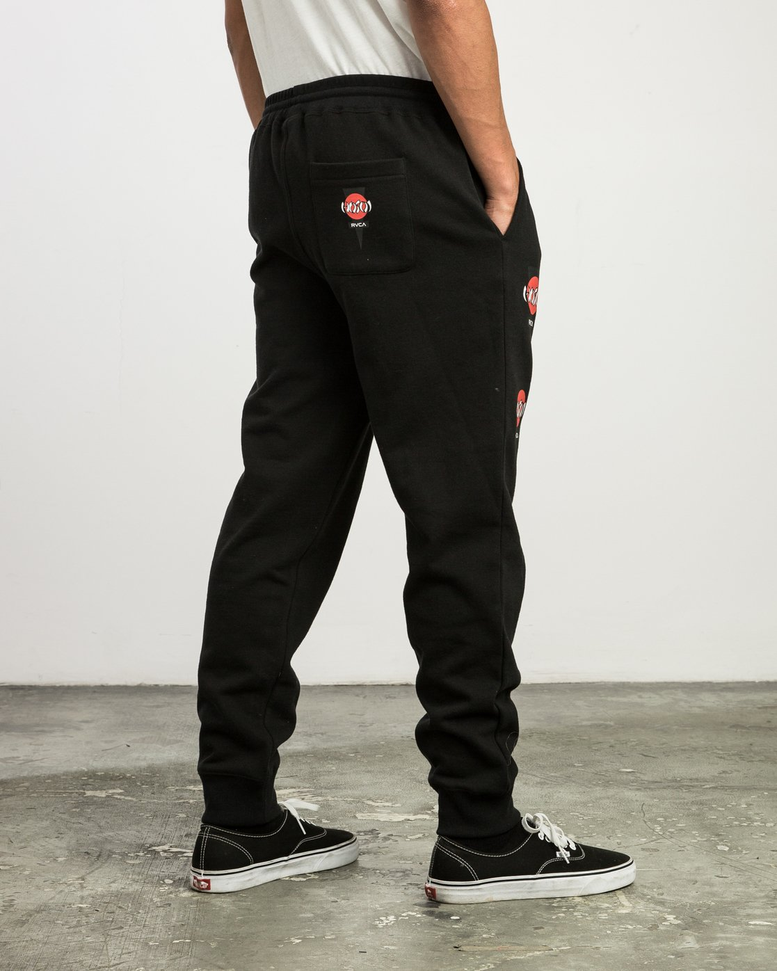 5 Christian Hosoi Sweat Pant Black M350SRHS RVCA