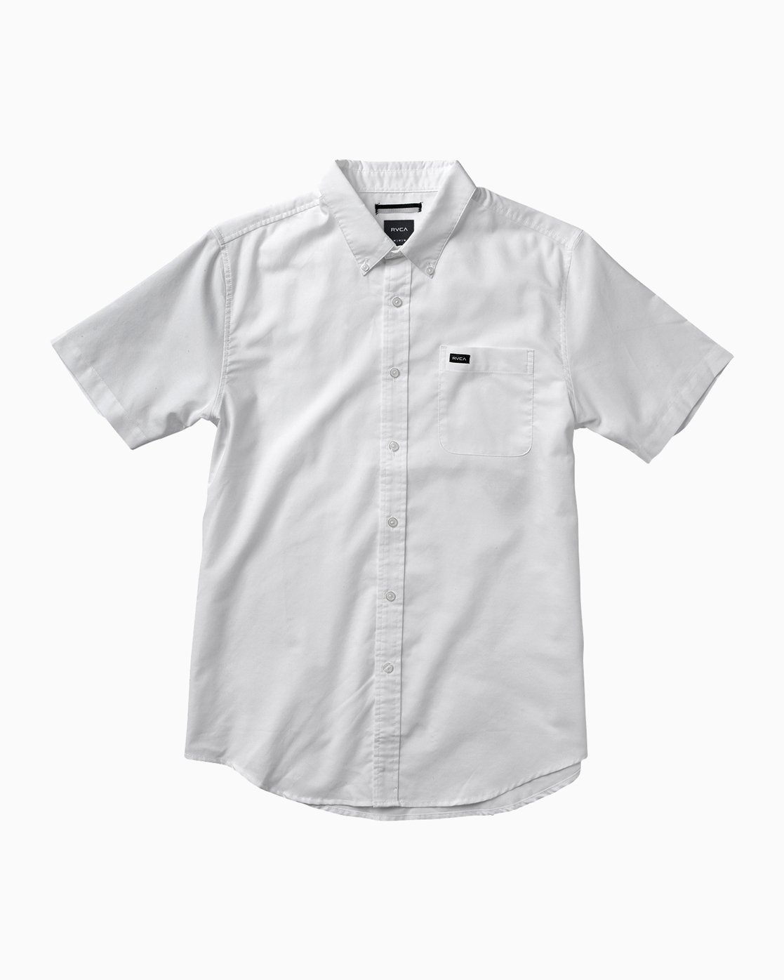 0 That'll Do Oxford Shirt White M3514TDS RVCA