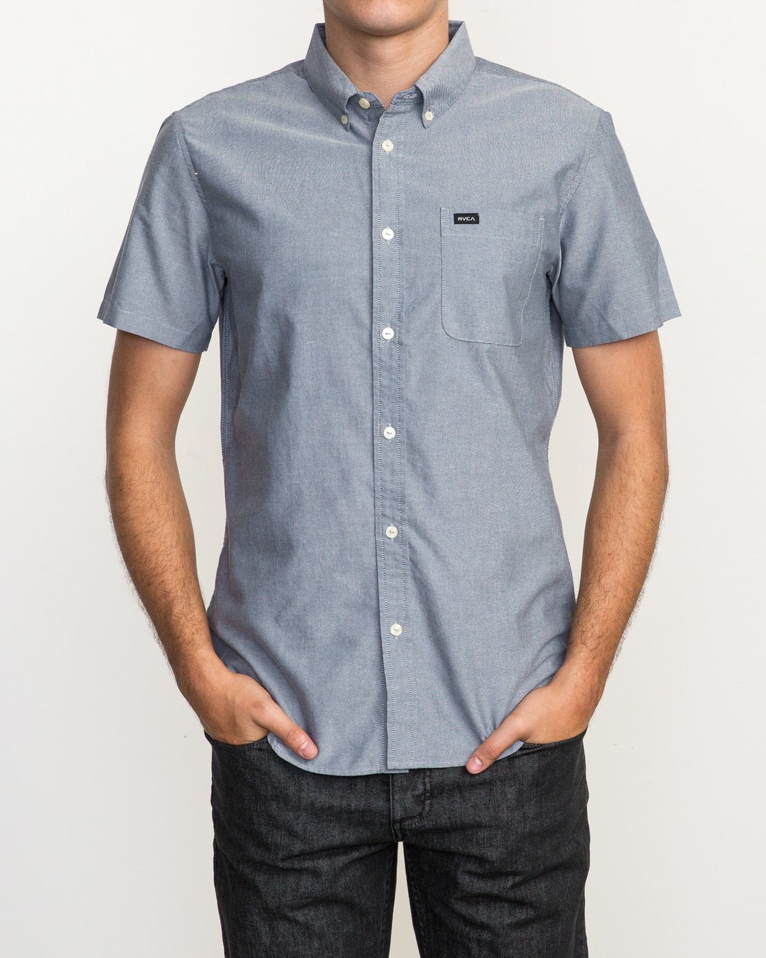 1 That'll Do Oxford Shirt Blue M3514TDS RVCA