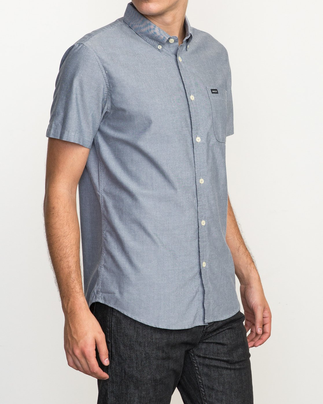 3 That'll Do Oxford Shirt Blue M3514TDS RVCA