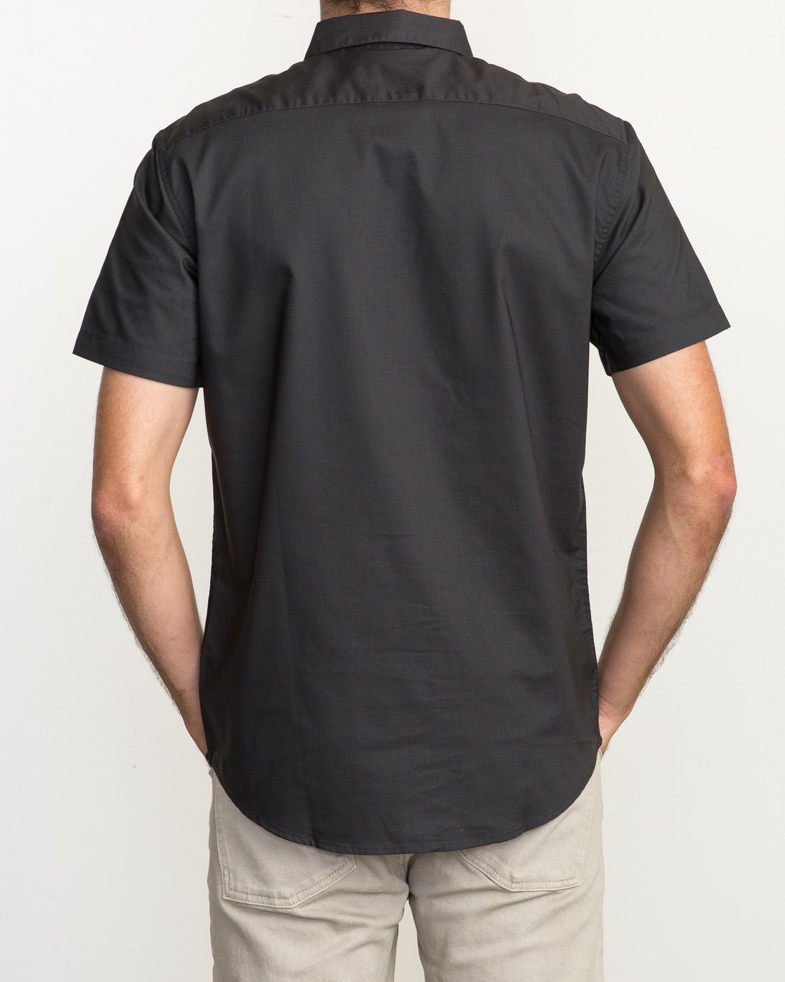4 That'll Do Oxford Shirt Black M3514TDS RVCA